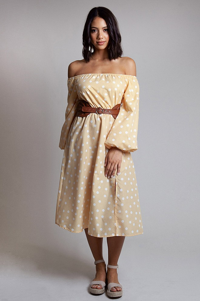 Old Town Road Midi Dress